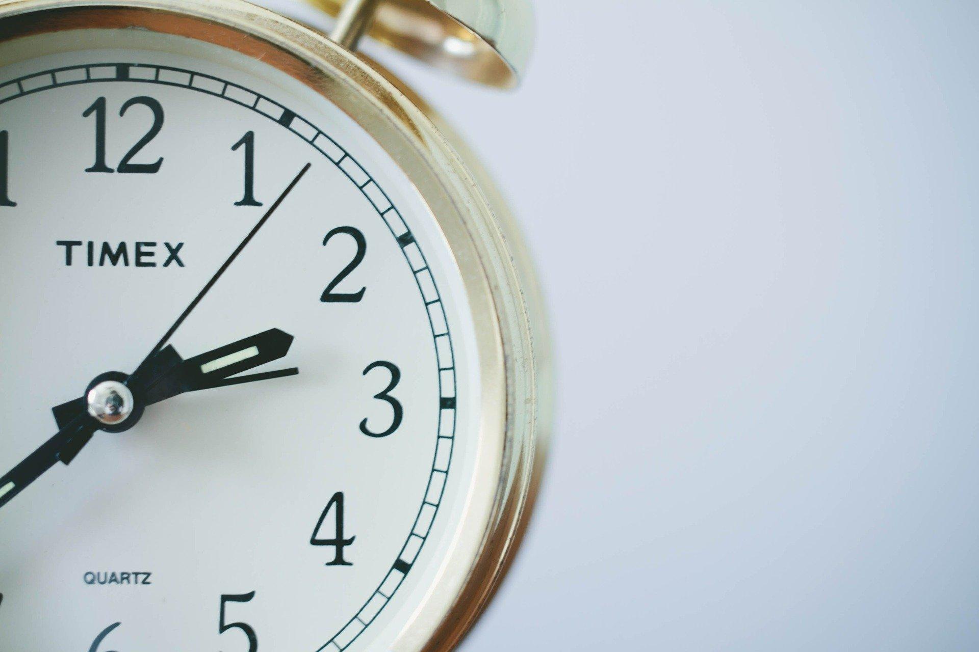 ¿Cuándo se produce el cambio de hora?